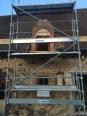 Lucarne en cours de construction